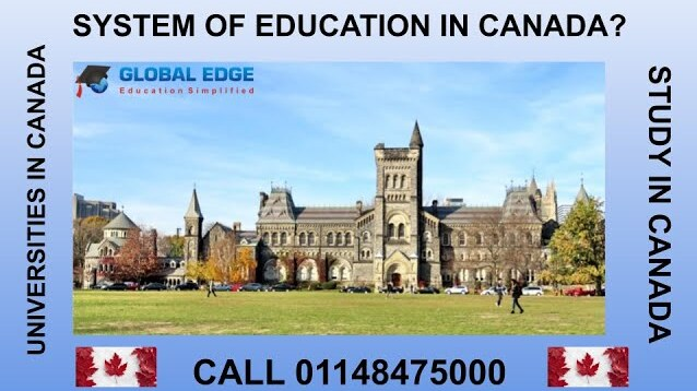 System of education in canada